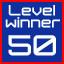 level 50 winner!