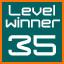 level 35 winner!
