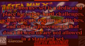 ~bonus~ mega man x2 retro achievements