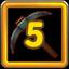 Miner's Guild Level 5