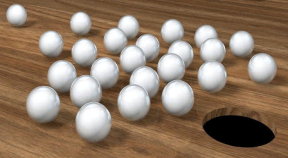 roll balls into hole google play achievements