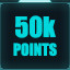 50,000 points