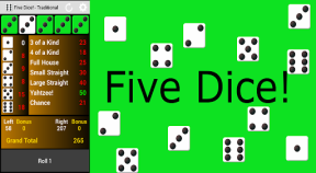 five dice! google play achievements