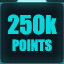 250,000 points