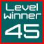 level 45 winner!