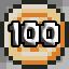 100 coins