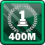 Win 400m Hurdles