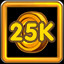 Collect 25K Coins