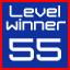 level 55 winner!