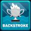 World Record in Swimming Backstroke