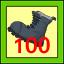 100 kick
