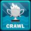 World Record in Swimming Crawl