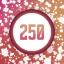 Splatter 250 times