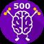 Consume 500 Brains
