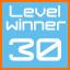 level 30 winner!