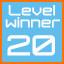 level 20 winner!