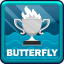 World Record in Swimming Butterfly
