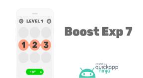 boost exp 7 google play achievements