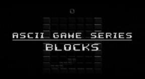 ascii game series  blocks steam achievements
