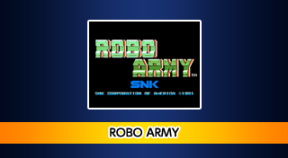 aca neogeo robo army ps4 trophies
