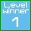 level 1 winner!