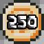 250 coins