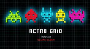 retro grid google play achievements