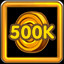 Collect 500K Coins