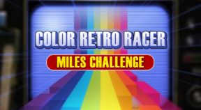first steam game vhs color retro racer   miles challenge steam achievements