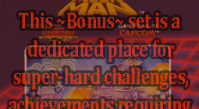 ~bonus~ mega man retro achievements