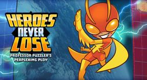 heroes never lose  professor puzzler's perplexing ploy steam achievements