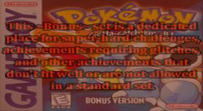 ~bonus~ pokemon red and blue versions retro achievements