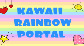 kawaii rainbow portal steam achievements
