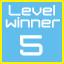 level 5 winner!