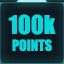 100,000 points