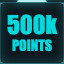 500,000 points