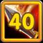Adventurer Level 40