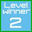 level 2 winner!